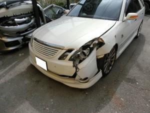 車両保険での修理車両です。